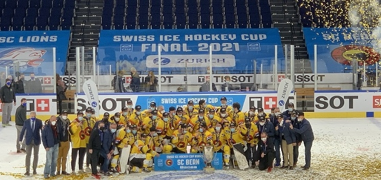 Photo hockey SIHC: LE SC BERN REPREND LA COUPE - Suisse - Swiss Ice Hockey Cup