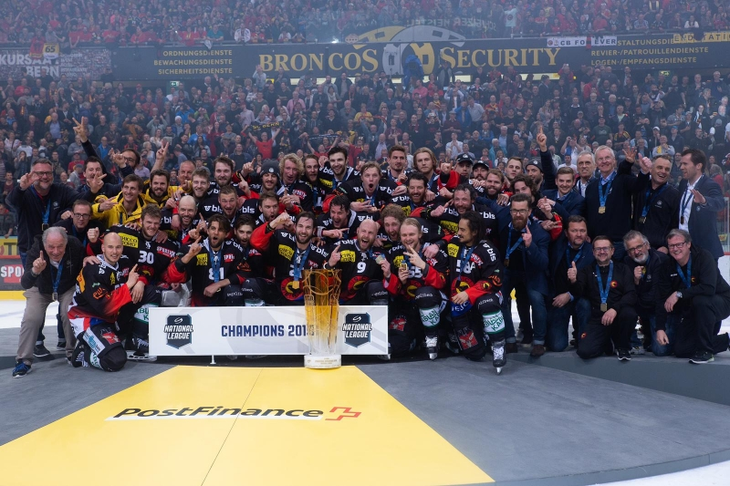Photo hockey Suisse: BERNE CHAMPION - Suisse - Divers