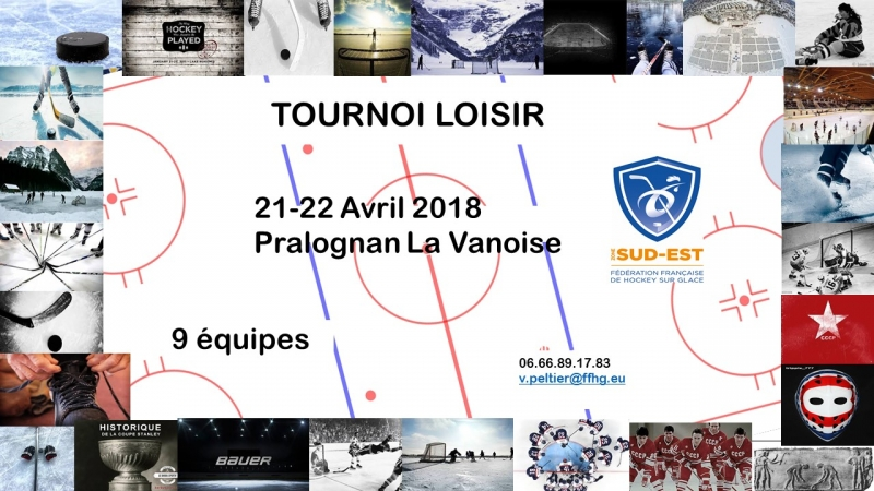 Photo hockey Tournoi loisir Zone Sud Est - Hockey Loisir