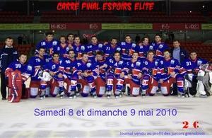 Hockey sur glace : U22 Carré final à Grenoble - Hockey ...