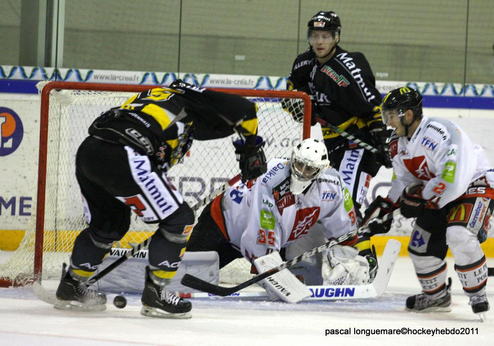 Photo hockey album ROUEN vs AMIENS en amical