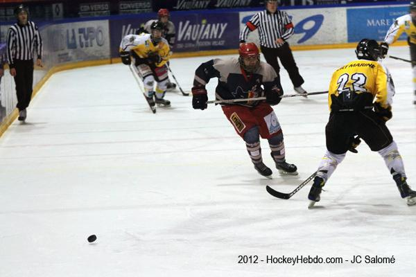 Photo hockey album U18: Grenoble - Rouen