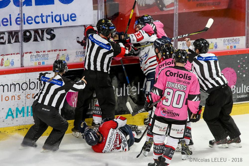 Photo hockey match Amiens  - Angers