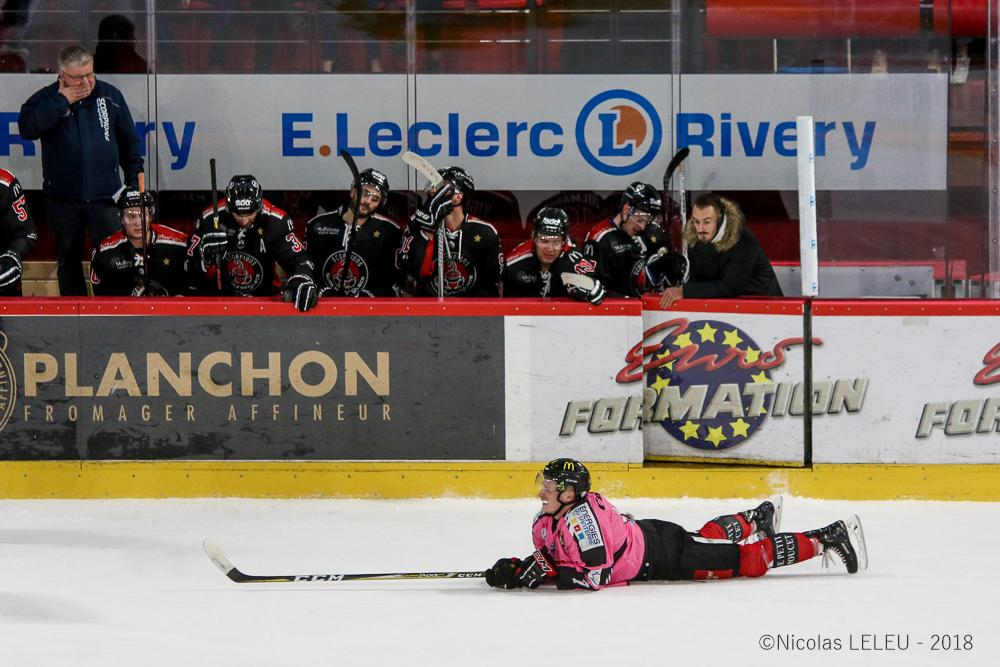 Photo hockey match Amiens  - Mulhouse