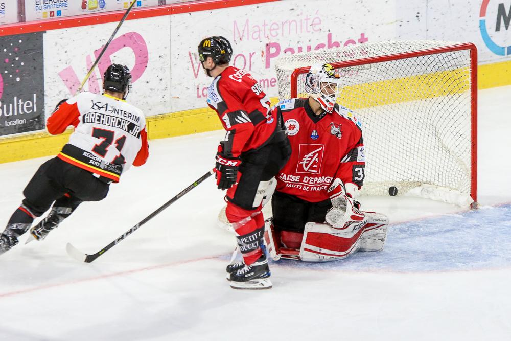 Photo hockey match Amiens  - Nice