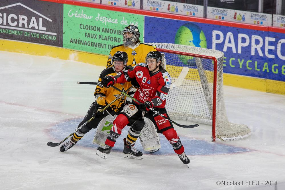 Photo hockey match Amiens  - Strasbourg