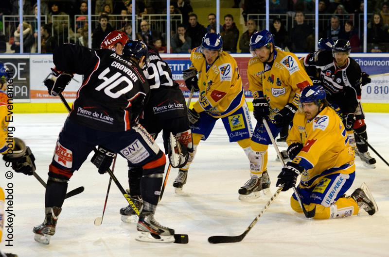 Photo hockey match Angers  - Dijon