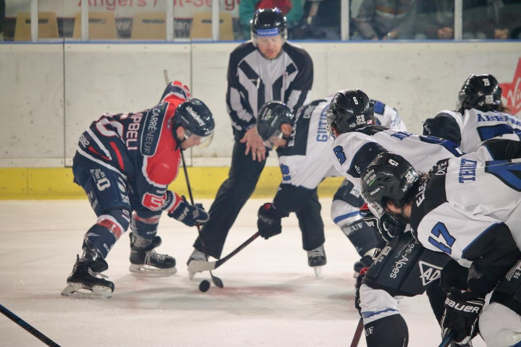 Photo hockey match Angers  - Gap