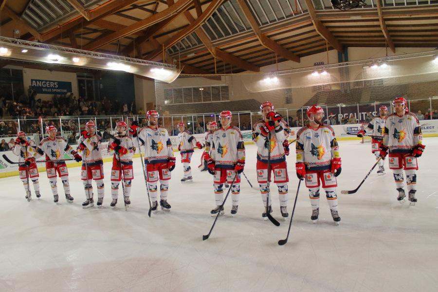 Photo hockey match Angers  - Grenoble