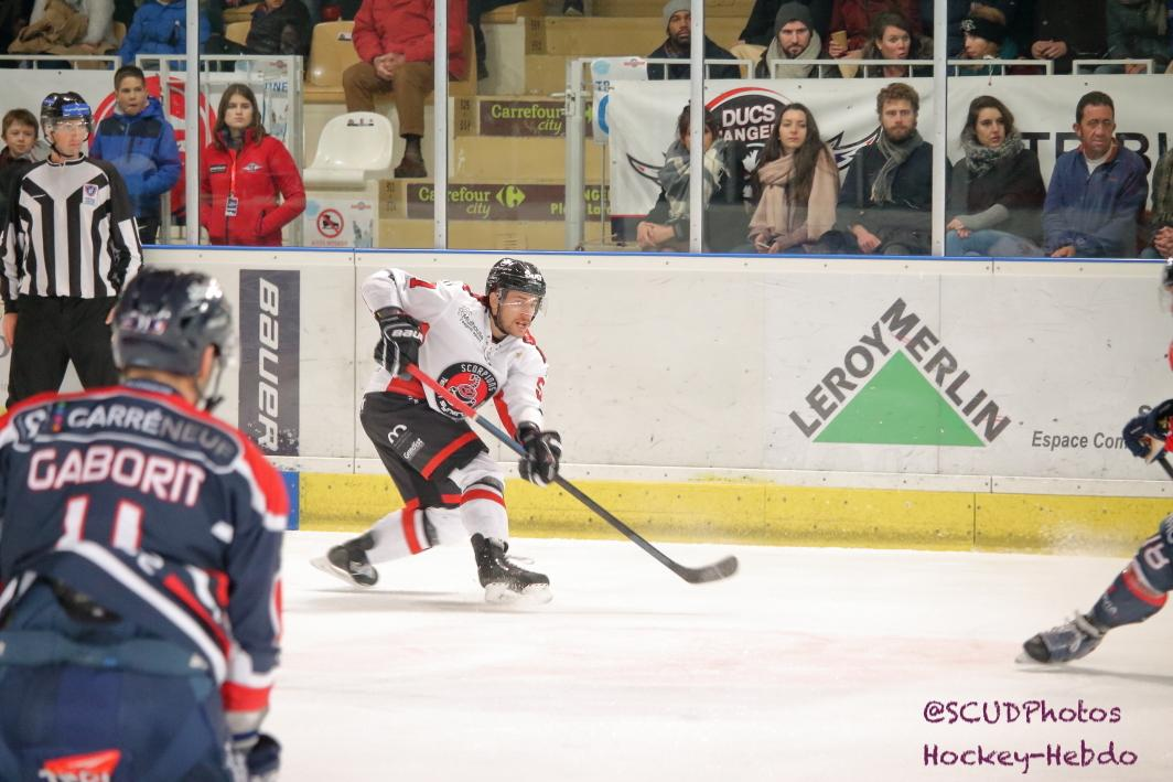 Photo hockey match Angers  - Mulhouse