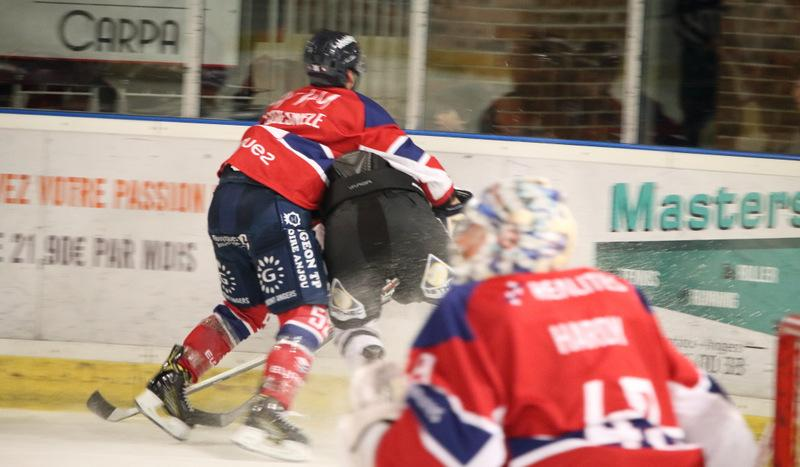 Photo hockey match Angers  - Nice