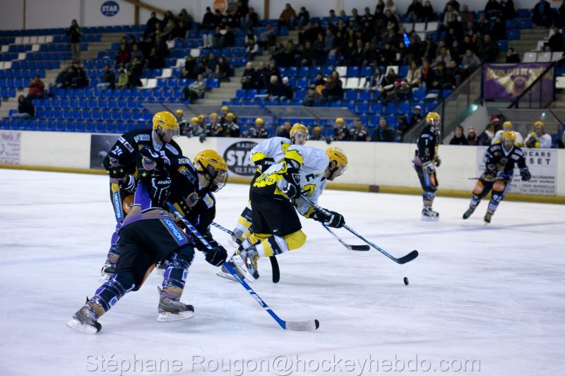 Photo hockey match Aubagne - Roanne
