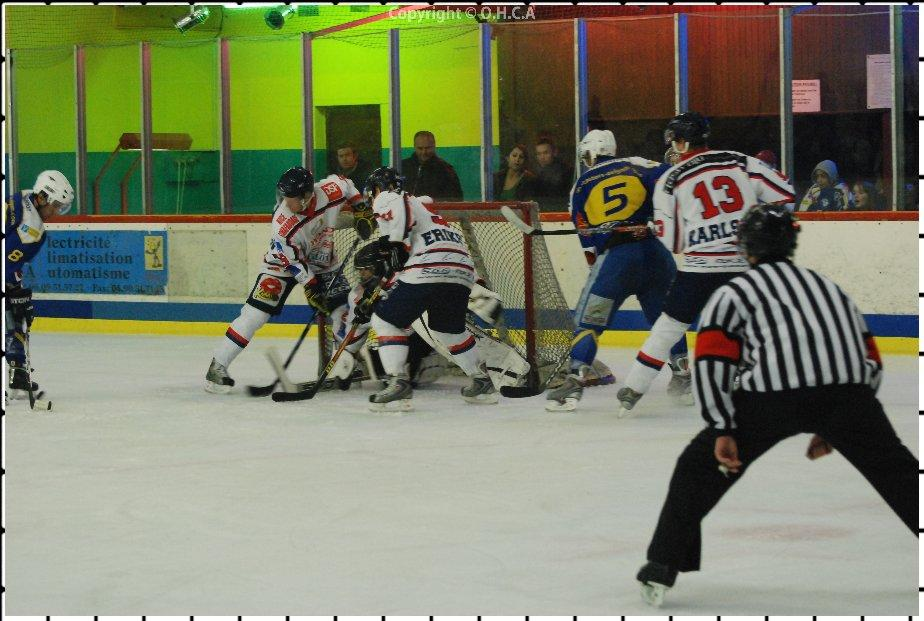Photo hockey match Avignon - Nice