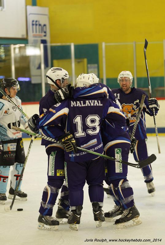 Photo hockey match Avignon - Tours II