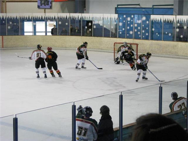 Photo hockey match Besançon - Font-Romeu