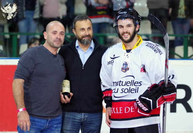 Photo hockey match Bordeaux - Nice
