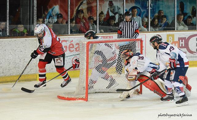 Photo hockey match Briançon  - Grenoble
