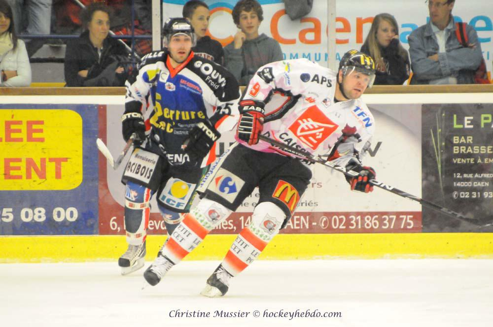 Photo hockey match Caen  - Amiens