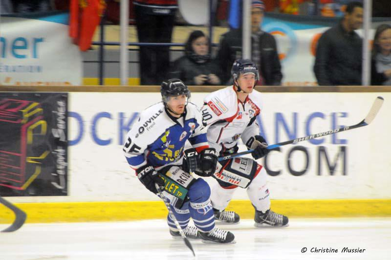 Photo hockey match Caen  - Angers