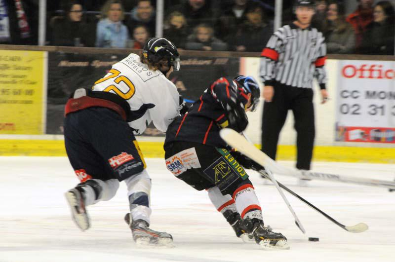 Photo hockey match Caen  - Chamonix