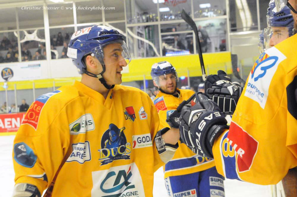 Photo hockey match Caen  - Dijon