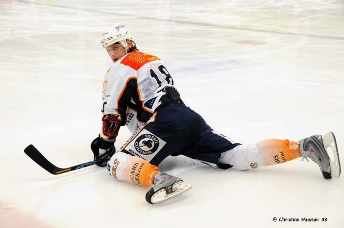 Photo hockey match Caen  - Montpellier