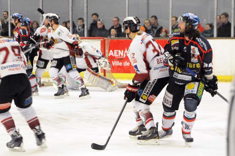 Photo hockey match Caen  - Morzine-Avoriaz