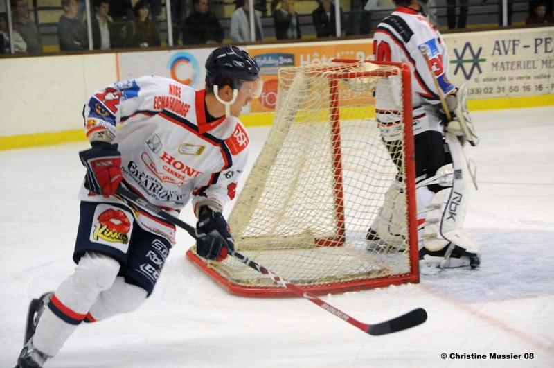 Photo hockey match Caen  - Nice