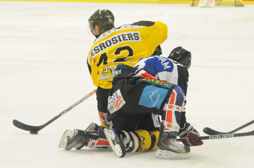 Photo hockey match Caen  - Rouen