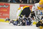 Photo hockey match Caen  - Strasbourg  le 19/02/2013
