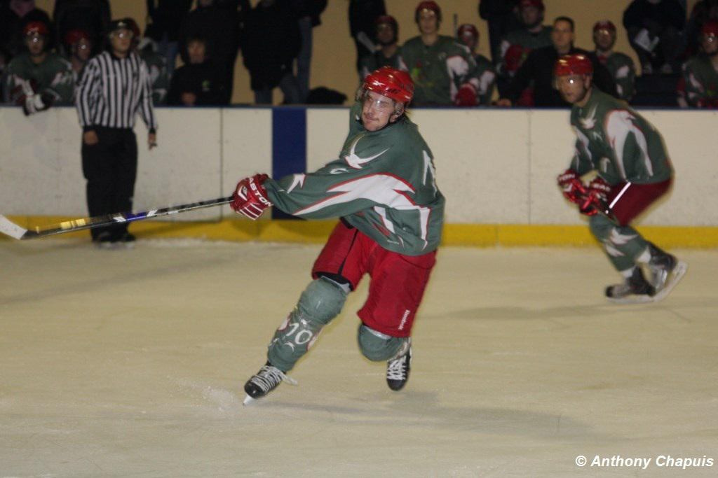 Photo hockey match Cergy-Pontoise - Courbevoie