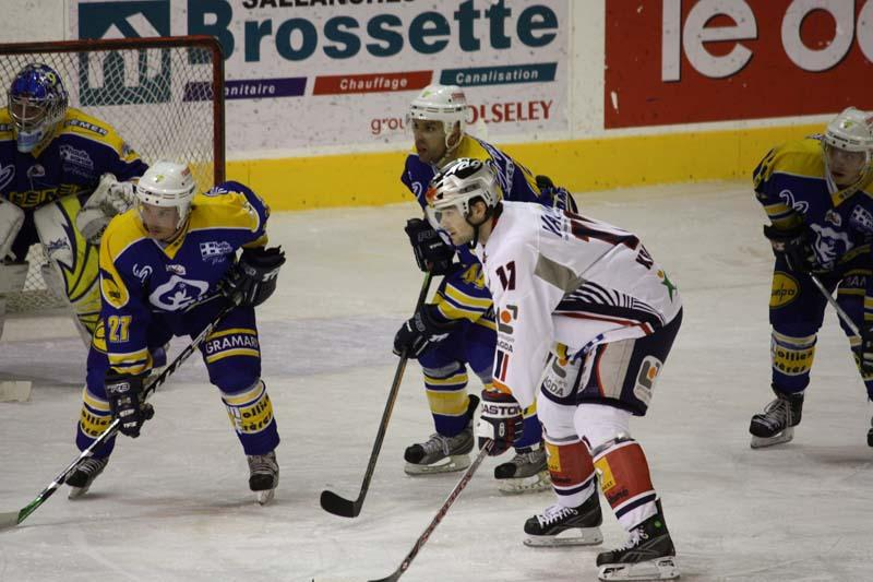 Photo hockey match Chamonix  - Grenoble