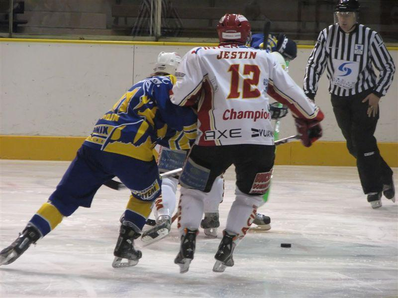 Photo hockey match Chamonix  - Morzine-Avoriaz