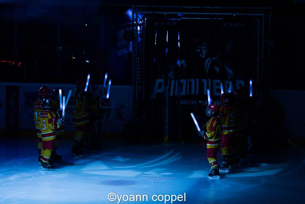 Photo hockey match Chamonix / Morzine - Nice
