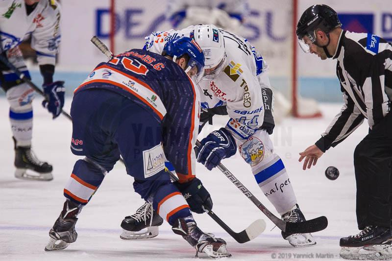 Photo hockey match Clermont-Ferrand - Courchevel-Méribel-Pralognan