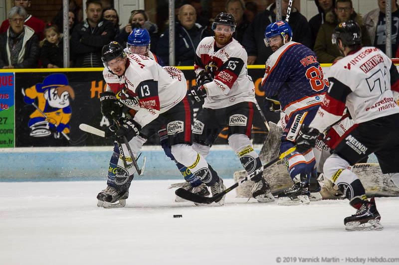 Photo hockey match Clermont-Ferrand - Morzine-Avoriaz