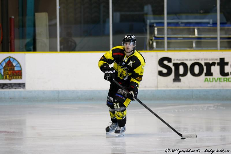 Photo hockey match Clermont-Ferrand - Roanne