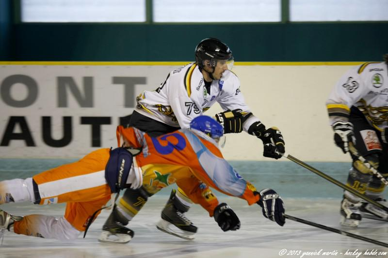 Photo hockey match Clermont-Ferrand II - Chambéry II