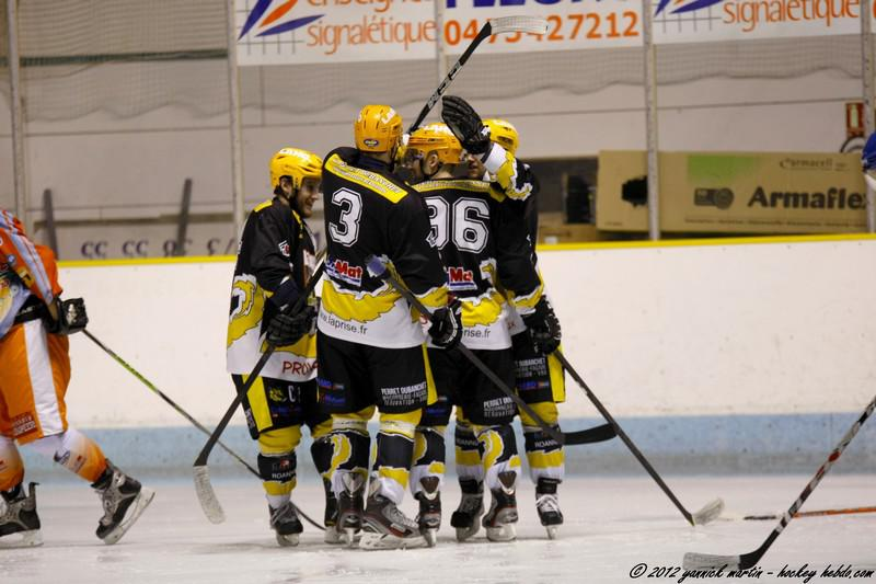 Photo hockey match Clermont-Ferrand II - Roanne