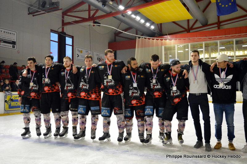 Photo hockey match Colmar - Morzine-Avoriaz