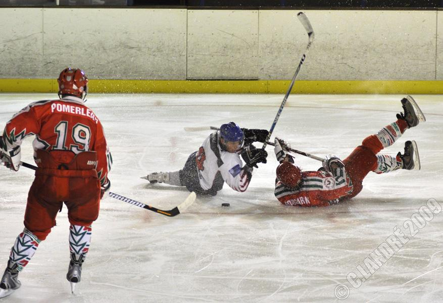 Photo hockey match Courbevoie  - Nice