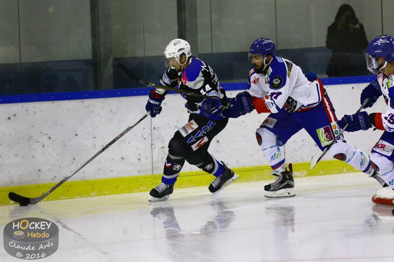 Photo hockey match Courchevel-Méribel-Pralognan - Mulhouse