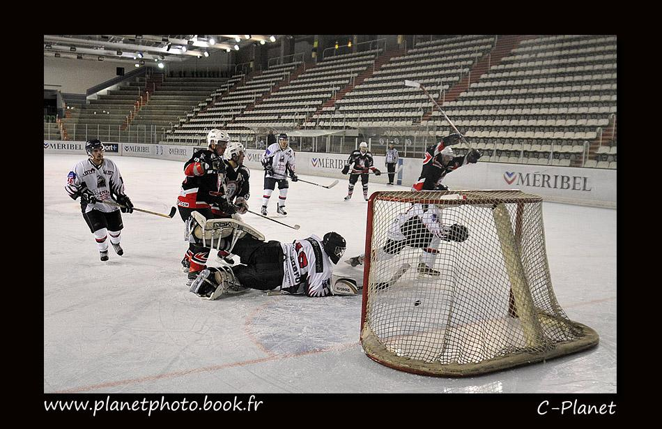 Photo hockey match Courchevel-Méribel-Pralognan - Nice
