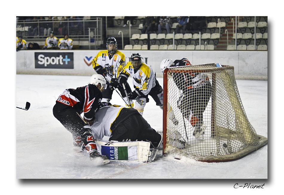 Photo hockey match Courchevel-Méribel-Pralognan - Rouen II