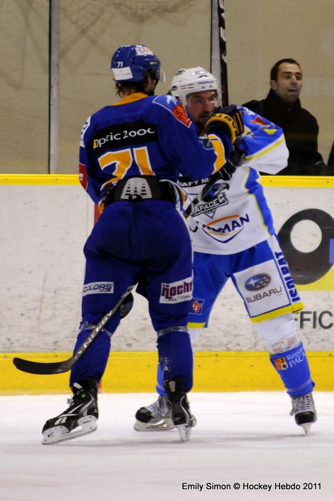Photo hockey match Dijon  - Gap
