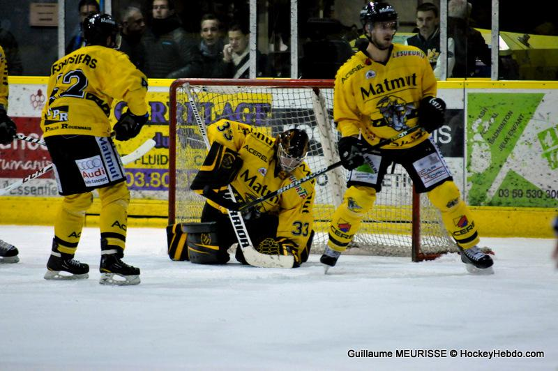 Photo hockey match Dijon  - Rouen