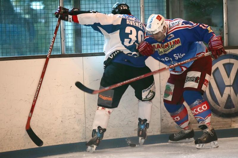 Photo hockey match Epinal  - Caen