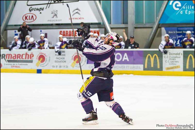 Photo hockey match Epinal  - Grenoble