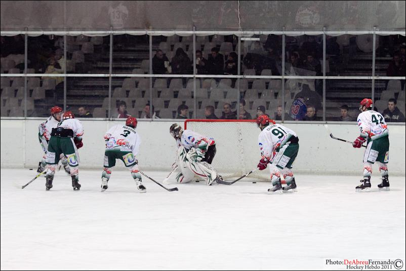 Photo hockey match Epinal  - Mont-Blanc