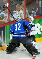 Photo hockey match Finland - United States of America le 08/05/2013